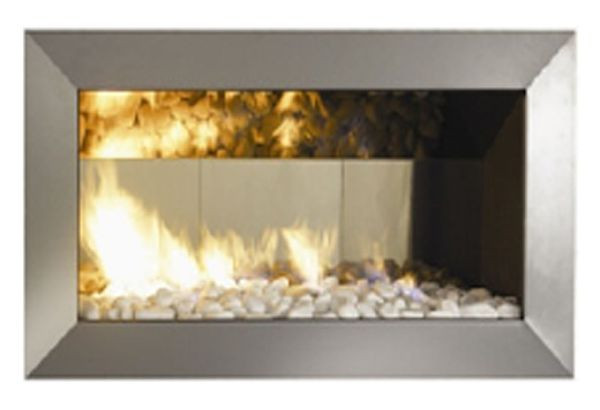 SYAM Fera Facia Single Sided Fireplace