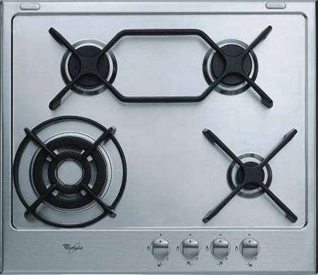 Whirlpool HOBS – STAINLESS STEEL & CERAMIC AKT 759/ix 75cm gas electric hob