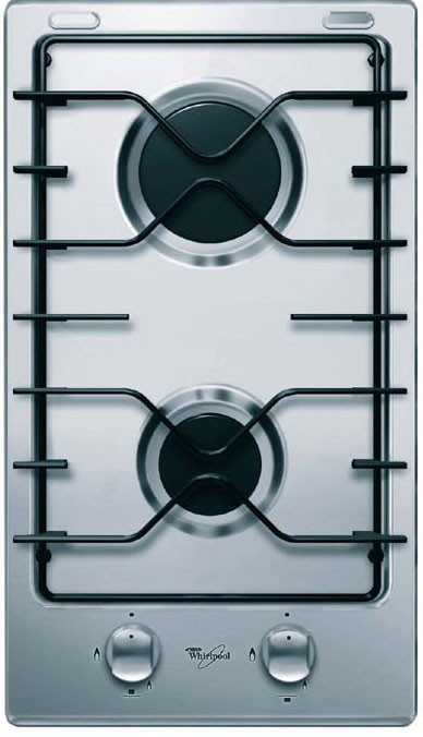 Whirlpool DOMINO HOBS – STAINLESS STEEL AKT 301/ix/01 30cm gas on stainless steel hob